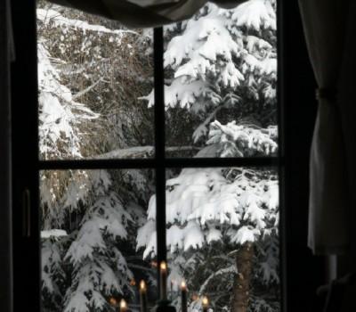 durch's Fenster